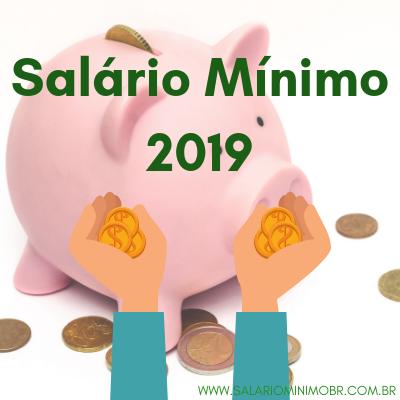 Salário Mínimo 2019